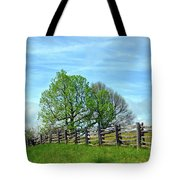 All Fenced In Along The Blue Ridge Parkway Tote Bag