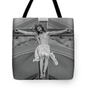 All For You Grayscale Tote Bag