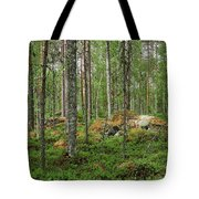 All Green Tote Bag
