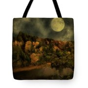 All Hallows Moon Tote Bag