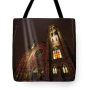 All Is Real Except The Church Tote Bag