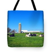 All Is Well In The Farmland Tote Bag
