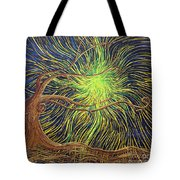 All Is Woven By The Light Tote Bag