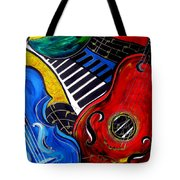 All Jazzed Tote Bag
