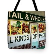 All Kinds Of Produce Tote Bag