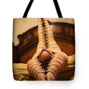 All Laced Up Tote Bag