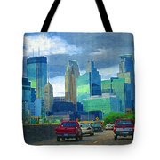 All Roads Lead To Minneapolis Tote Bag