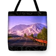 All Roads Lead To The Mountain Tote Bag