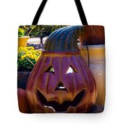 All Smiles For Halloween Tote Bag