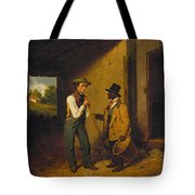 All Talk And No Work Tote Bag