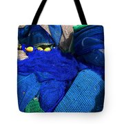 All The Blue Of The Sea Tote Bag