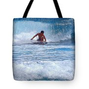 All The Way To Shore Tote Bag