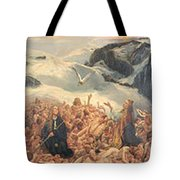 All Things Die  But All Will Be Resurrected Through God's Love Tote Bag