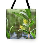All Traps Set. Creeping Willow Tote Bag