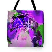 Allah 99 Nmes Al Hakeemo Tote Bag