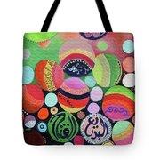 Allah Names - Circles Tote Bag