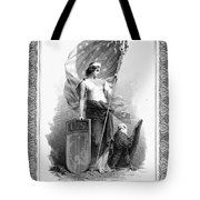 Allegory: Columbia, C1870 Tote Bag