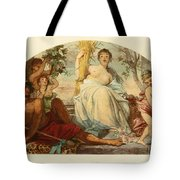 Allegory Of Agriculture Tote Bag