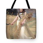 Allegory Of France Tote Bag