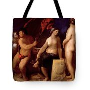 Allegory Of Music 1522 Tote Bag