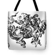 Allegory Of Saturn, 1480 Tote Bag