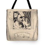Allegory Of Summer Tote Bag