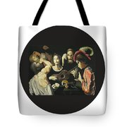 Allegory Of The 5 Senses Tote Bag