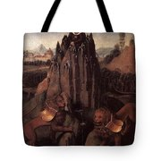 Allegory With A Virgin 1479 80 Hans Memling Tote Bag