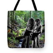 Allen And Steve Jam With Friends On Mt. Spokane Tote Bag