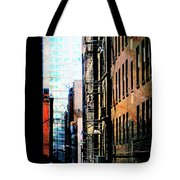Alley Abstract #2 Tote Bag