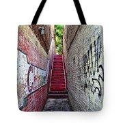 Alley At Chapelhill Tote Bag
