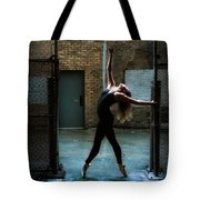 Alley Dance Tote Bag