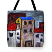 Alley Doors Tote Bag