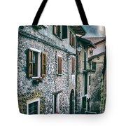 Alley In An Alpine Village #1 Tote Bag