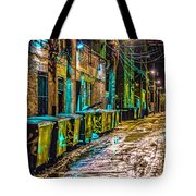 Alley In Uptown Chicago Dsc2687 Tote Bag