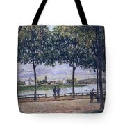 Alley Of Chestnut Trees Tote Bag