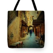 Alley Of Old Sidon Tote Bag