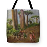 Alley Of The Baobabs Tote Bag