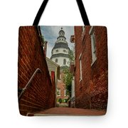 Alley View Tote Bag