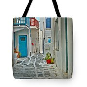 Alley Way Tote Bag