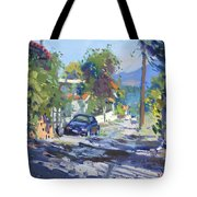 Alleyway By Lida's House Greece Tote Bag