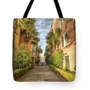 Alleyway In Chaleston Tote Bag