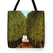 Alleyway In The Park Tote Bag