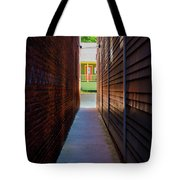 Alleyway To Green Tote Bag