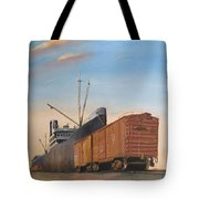 Allied Orient Lines Tote Bag
