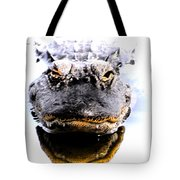 Alligator Fangs 2 Tote Bag
