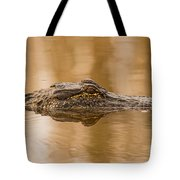 Alligator Head Tote Bag
