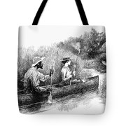 Alligator Hunt, 1888 Tote Bag