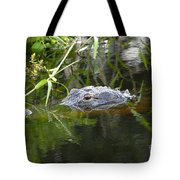 Alligator Hunting Tote Bag