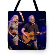 Allison Krauss And Bob Wier Tote Bag